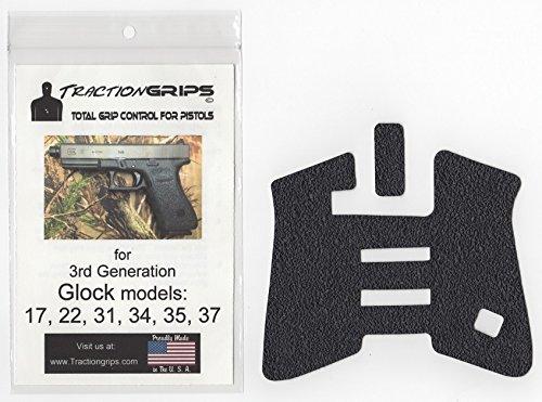 Tractiongrips overlay decal Glock Generation
