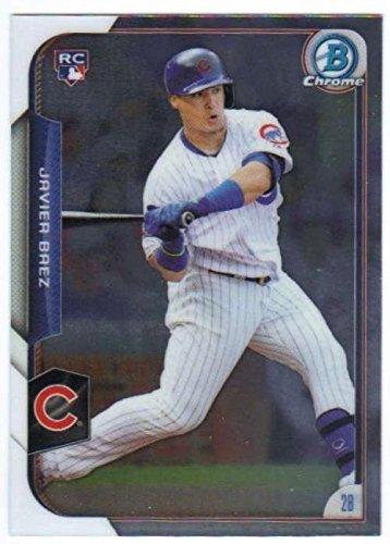2015 Bowman Chrome #178 Javier Baez Cubs MLB Baseball Card (RC - Rookie Card) NM-MT