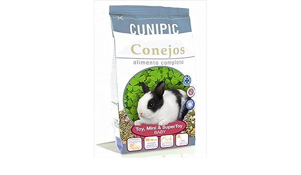 Cunipic conejo Toy y Super Toy baby comida para conejo: Amazon.es ...