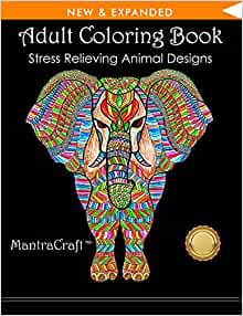 Amazon.com: Adult Coloring Book: Stress Relieving Animal ...