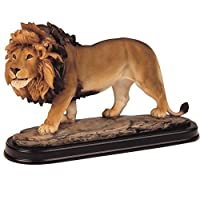 George S. Chen Imports SS-G-11447 Lion Collectible Wild Cat Animal Decoration Figurine Sculpture Model