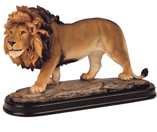 George S. Chen Imports SS-G-11447 Lion Collectible Wild Cat Animal Decoration Figurine Sculpture (Sculpture Wild Animal Statue)