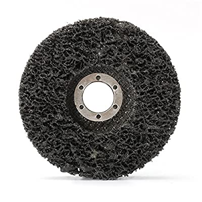 Toolcool 5PCS 115mm Abrasive Disc Rust And Paint Removal Polycarbide Abrasive Stripping Disc Wheel