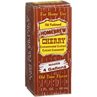 Homebrew Cherry Concentrated Extract, 2-Ounce Boxes (Pack of 3)