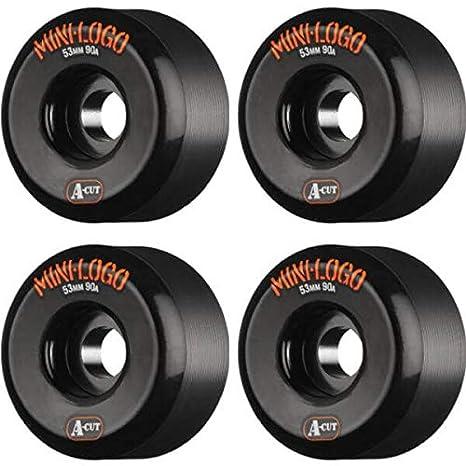 Mini-Logo A-Cut 90a Hybrid Skateboard Wheels Set of 4