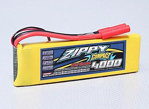 ZIPPY Compact 4000mAh 2S 25C Lipo Pack