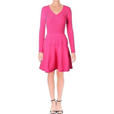 Amazon.com  Juicy Couture Womens Ottoman Stitch Flirty Dress  Clothing 07f25bce6
