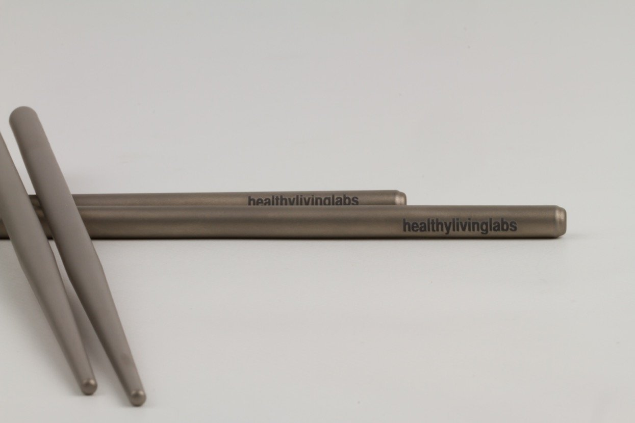 Strong Lightweight Titanium Chopsticks by HealthyLivingLabs
