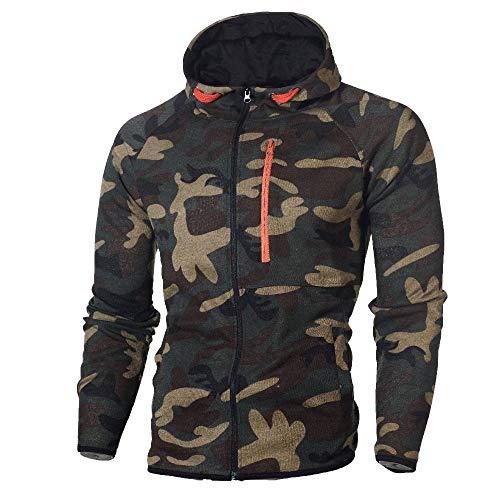 2018 Wintialy Men's Autumn Winter Camouflage Sweatshirt Top Pants Sets Sports Suit Tracksuit