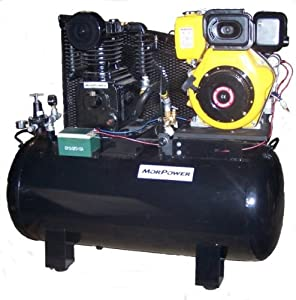 Amazon.com: Air Compressor, 10 Hp Diesel Engine, 32 CFM