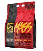 Spawned from countless hours of research and testing on some of the most massive MUTANTs on the planet, MUTANT MASS is the revolutionary muscle mass gainer that can make a difference. Every serving of MUTANT MASS delivers to your body an array of mac...
