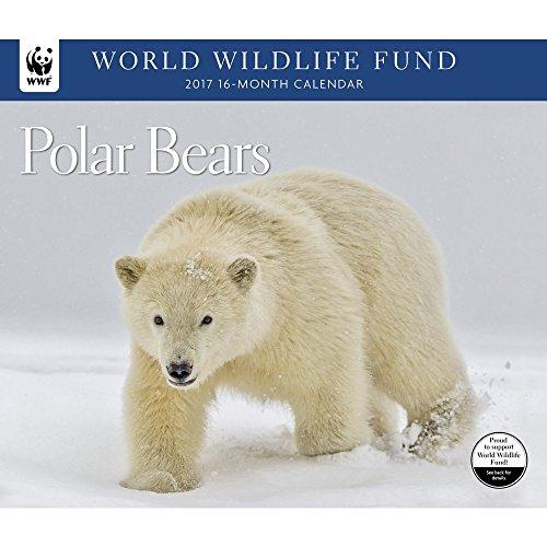 2017-world-wildlife-fund-polar-bears-deluxe-wall-calendar