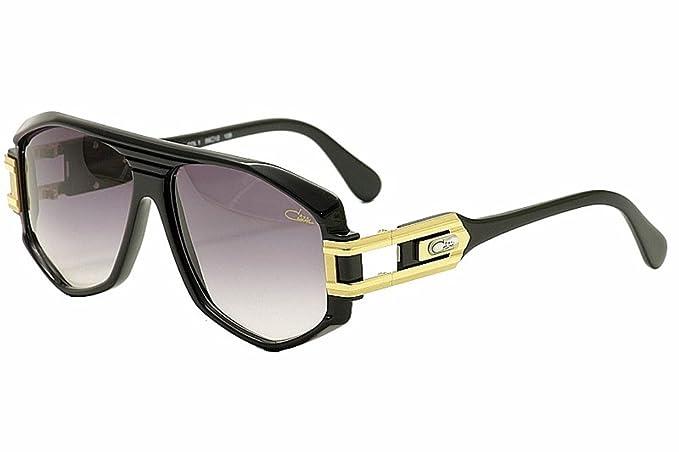 Amazon.com: Cazal 163 001sg anteojos de sol, Color negro ...