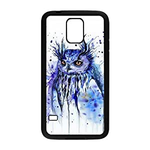 Cute Owl Best Design Hard Back Protection Cover Case For Samsung Galaxy S5 TPU