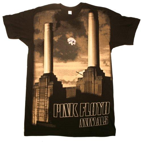 Impact Pink Floyd animals big print subway tshirt