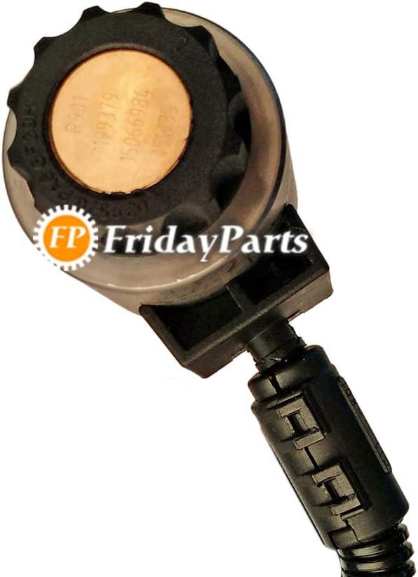 FridayParts Solenoid Valve 15066984 11144019 for Volvo Wheel Loader L220D L90E L110E L120E L110E L120E L150E L220E L180E