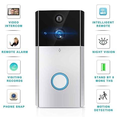 WiFi Timbre 720 P Cámara IP Inteligente Intercomunicador ...