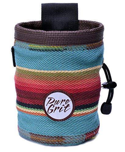 Pure Grit Sundance Chalk Bag (USA made) with Belt …