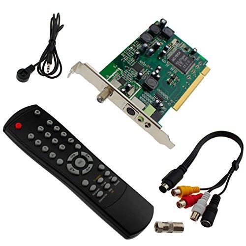 PCI Satellite TV Receiver Card Satellit TV Karte Fernsehen + Ferbedienung uvm MS
