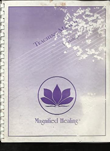 magnified healing teaching manual workshop amazon co uk rh amazon co uk magnified healing manual download magnified healing manual tecnico pdf