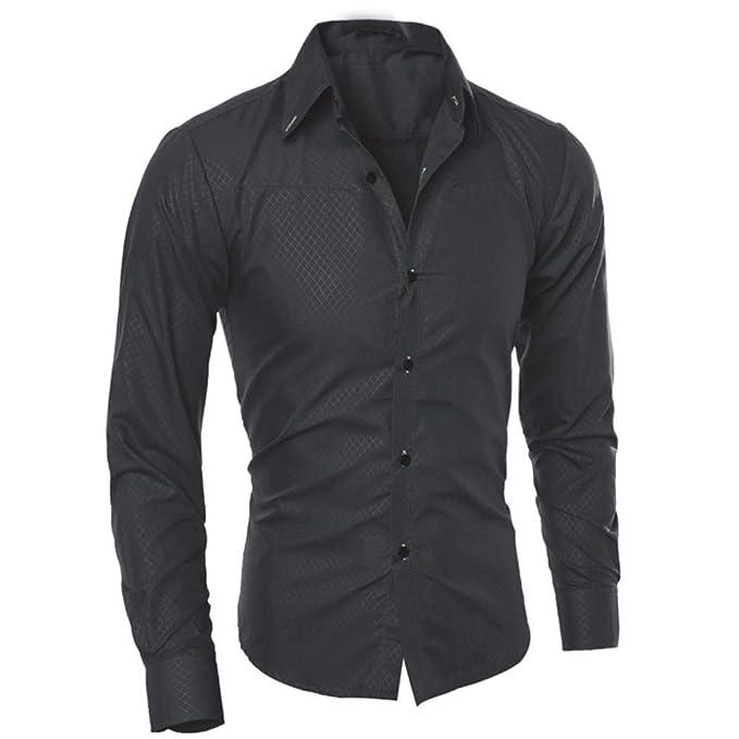 Amazon.com: YOcheerful - Camiseta de manga larga para hombre ...