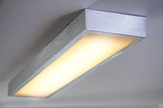 Led deckenlampen für badezimmer  LED Deckenlampe Wutach lang 1800 Lumen 24 Watt 3000 Kelvin ...