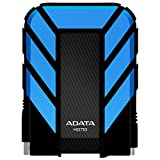 ADATA USA Dash Drive 2TB HD710 Military-Spec USB 3.0 External Hard Drive, Blue (AHD710-2TU3-CBL)