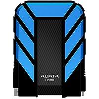 ADATA USA Dash Drive HD710 Disco duro externo de grado militar, color azul,  capacidad 1 TB