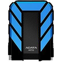 ADATA HD710 1TB USB 3.0 Waterproof/ Dustproof/ Shock-Resistant External Hard Drive, Blue (AHD710-1TU3-CBL)