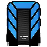 ADATA HD710 1TB USB 3.0 Waterproof/Dustproof/Shock-Resistant External Hard Drive, Blue (AHD710-1TU3-CBL)