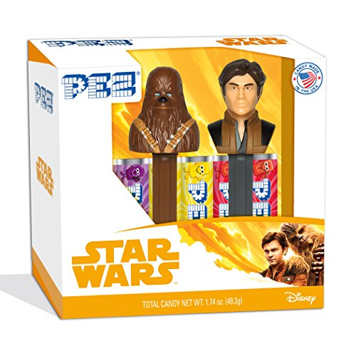 PEZ Candy Twin Pack Star Wars Hans Solo, 5.3 Ounce -