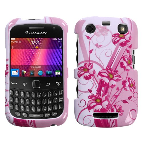 Blooming Lily Phone Protector Cover for RIM BlackBerry 9350 (Curve), RIM BlackBerry 9360 (Curve)