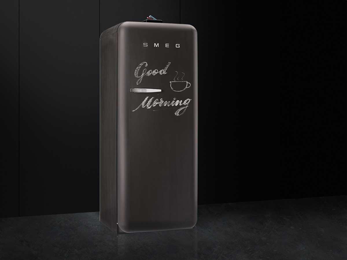 Smeg Kühlschrank Schiefer : Smeg fab rdbb kühlschrank a kühlteil l gefrierteil l