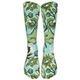 Best Fashion Shop Mouse Poisons - Classic Squirrel And Floral Beautiful Unisex Tube Socks Review