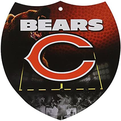 Prime Amazon Com Nfl Chicago Bears 8 X 8 Plastic Shield Sign Ocoug Best Dining Table And Chair Ideas Images Ocougorg