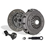 Clutch Kit Works With Ford Focus Base SE S2 ZTS ZTW ZX3 ZX5 Sony Limited Edition Manual Mid High 2000-2004 2.0L L4 GAS DOHC Naturally Aspirated