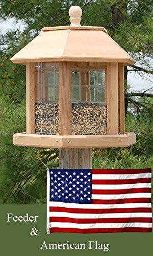 (Heath Le Grande Gazebo Bird Feeder and American)