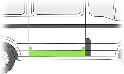 Chapa de reparación Puerta Corredera derecha B-Ware: Amazon.es ...