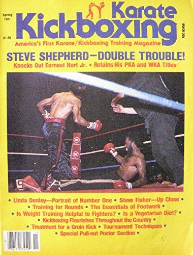 Spring 1981 Karate Kickboxing Magazine Steve Shepherd Linda Denley V.1 - N Linda