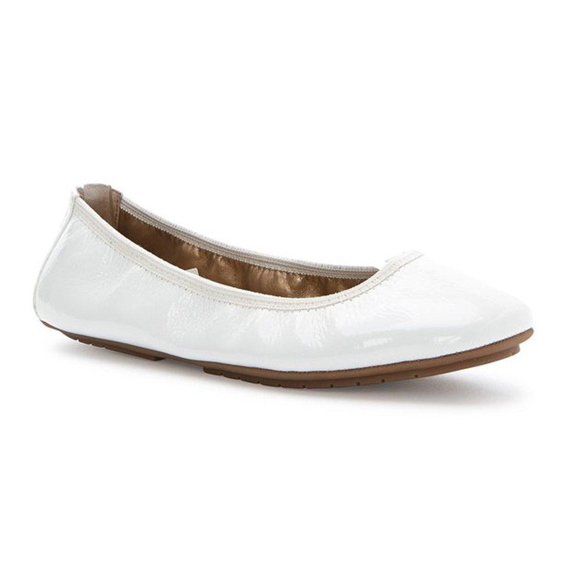 Me Too Womens Icon Ballet Flat Shoes B01JSUGSIA 10 B(M) US|White Patent