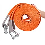 JIC Heavy Duty CAR Towing Rope 3MTR with Heavy Hooks