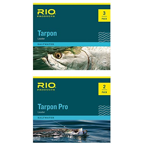 RIO Products Leaders Pro Tarpon Leader 20Lb Class 60Lb Fluorocarbon Shock, Clear