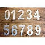 COBBLER stainless steel door numbers, set of 10 numbers, 2 inch