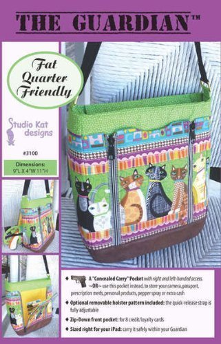 The Guardian Conceal Carry Bag Purse Pattern No. 3100 By Studio Kat Designs