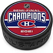 Montreal Canadiens Semi Finalist Champs Puck