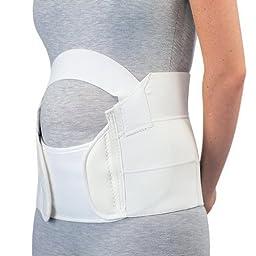 Maternity Belt, Large, 52-62 Inch Hip Strap Closure 8 Inch W - 1 Each
