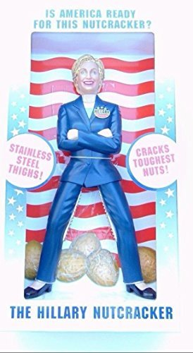 HILLARY CLINTON NUTCRACKER (THE ORIGINAL) BRAND NEW IN BOX by Brand New ()