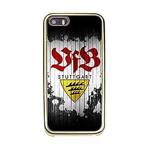 Creative Official VfB Stuttgart Football Club Phone Case VfB Stuttgart Logo Soft TPU Phone Cover for Iphone 5/5s