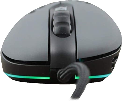 G-Wolves Skoll SK-L3360 Wired Gaming Mouse up to 12000 cpi - 7 Buttons - RGB 2.32 oz (66g) (Grey)
