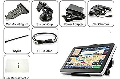 Xinda 7 inch Car GPS Windows CE 6.0 4GB HD Screen Navigation System Navigator